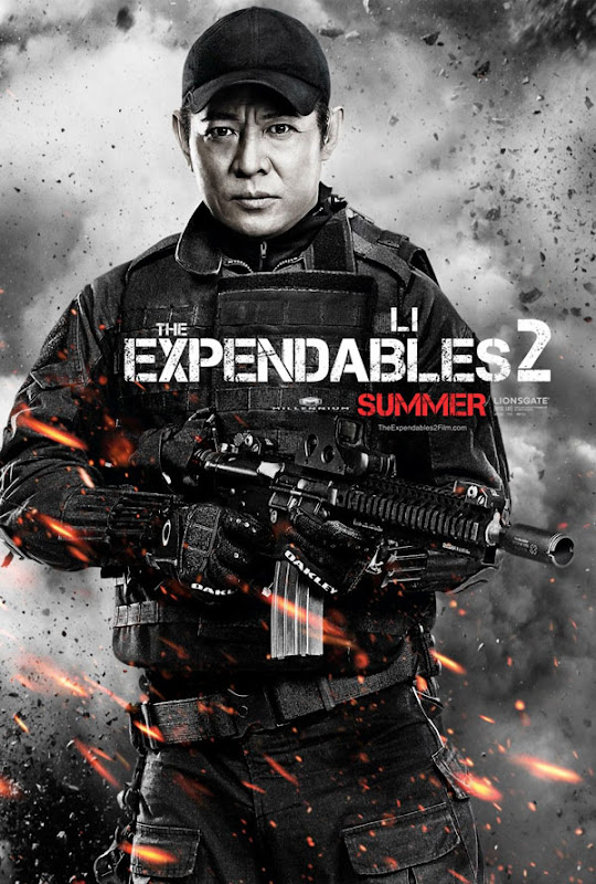 expendables two ver8 xlg The Expendables 2   Galeria de Posters e Trailer.