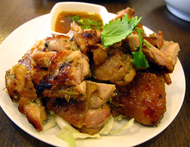 泰式烤雞NT 120元-泰僑村台中泰式料理