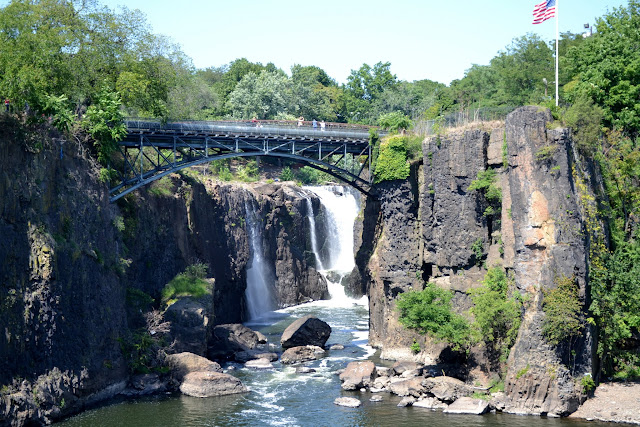 Водопады реки Пассаик, Нью-Джерси (Great Falls of the Passaic River, Paterson, NJ)