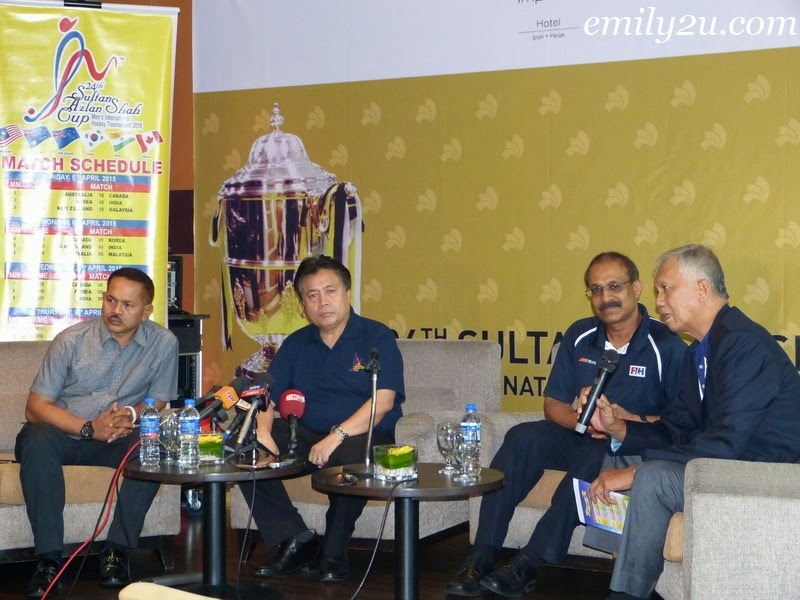 Press Conference: 2015 Sultan Azlan Shah Cup