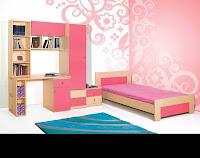 παιδικο δωματιο,ξυλινα κρεβατια,οικονομικο νεανικο δωματιο