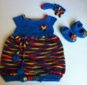 Molly Bubble Rainbow Romper, 3 Month Size