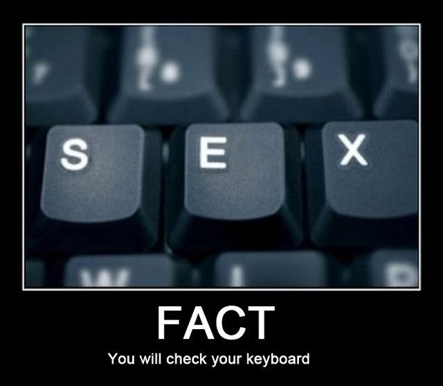 Fact : You Will Check Your Keyboard