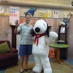 Snoopy and one of  the heads of our manaTEAM, Dr. John Hutton!