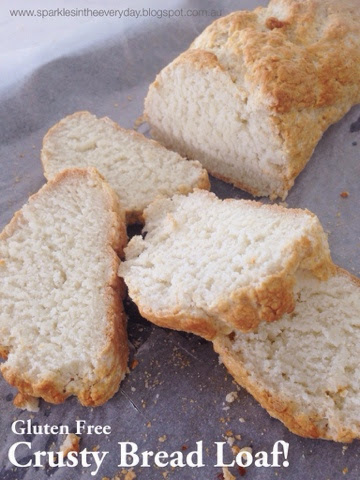 Gluten Free Crusty Bread Loaf