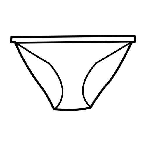 Underpants, free coloring pages
