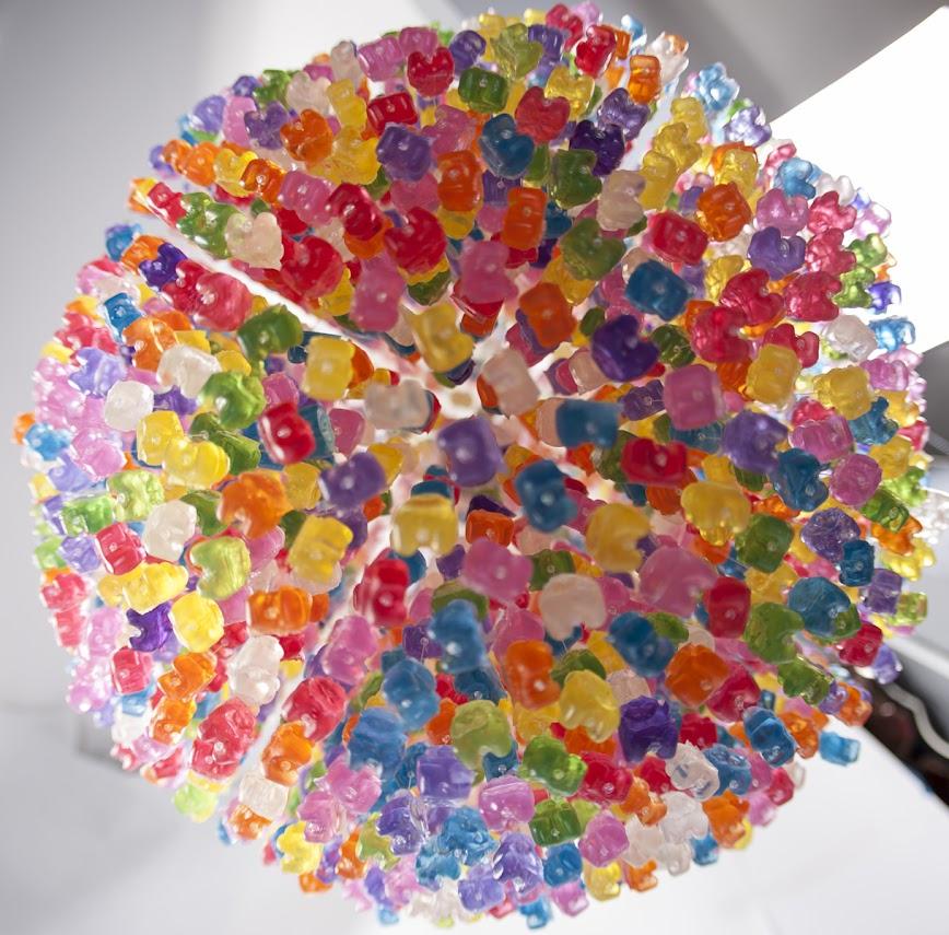 *Kevin Champeny:Gummy Bears Chandelier 小熊軟糖吊燈 5