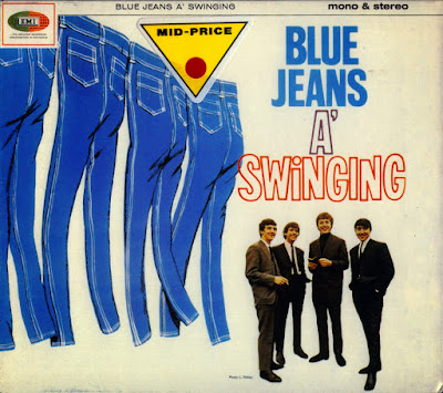 the Swinging Blue Jeans ~ 1964c ~ Blue Jeans A' Swinging