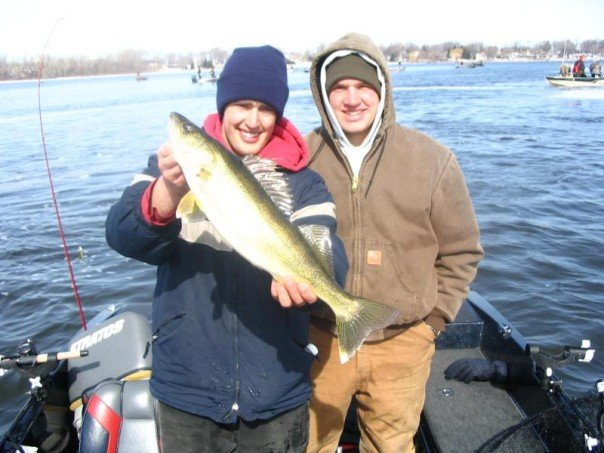 Wisconsin fishing reports think spring for Wi fishing report