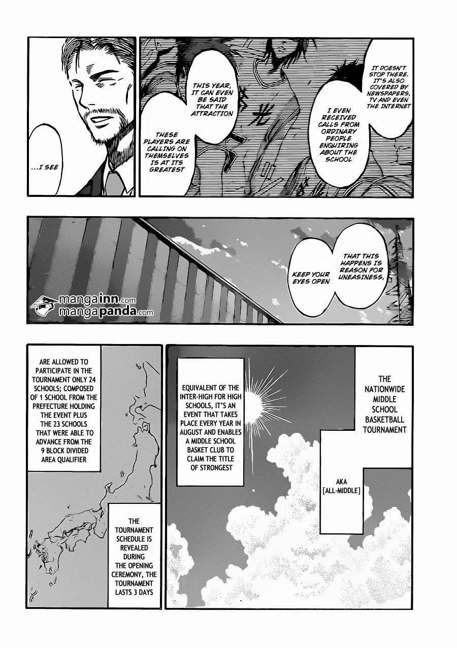 Kuroko no Basket Manga Chapter 215 - Image 06