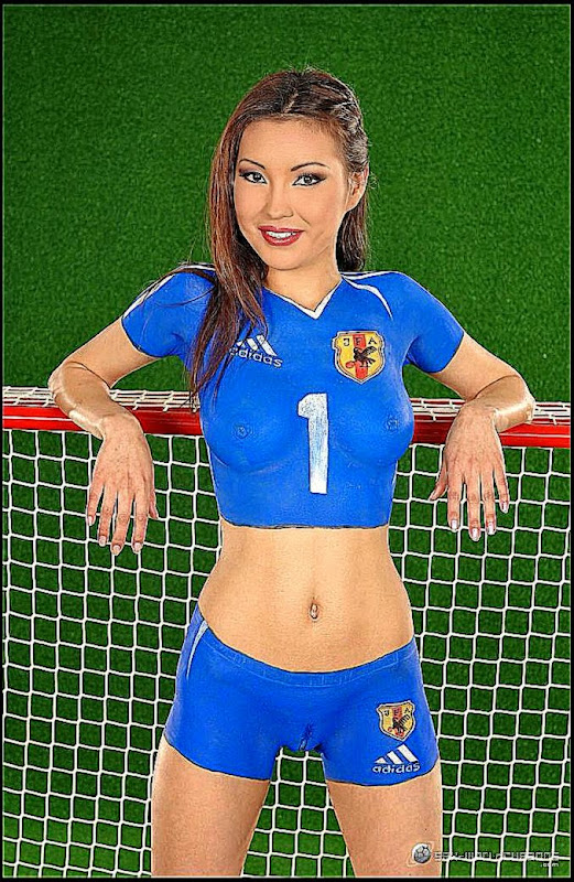 Soccer Body Painting | Body Painting Galleries