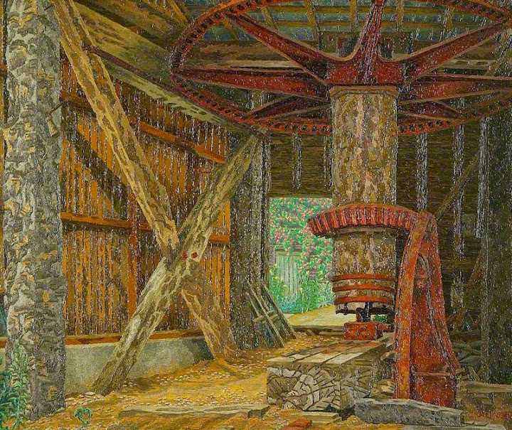 Charles Ginner - The Old Paper Mill