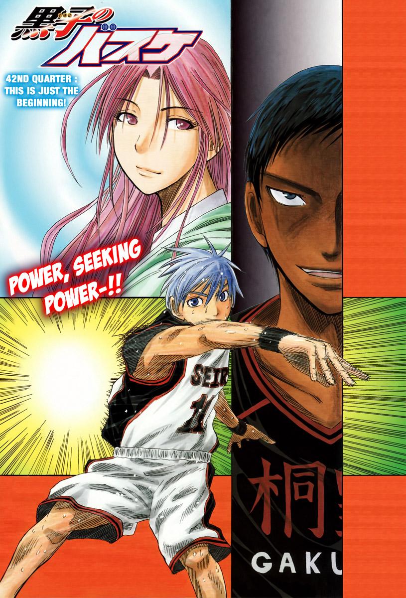 Kuroko no Basket Manga Chapter 42 - Image 01