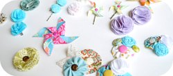 Thumbnail image for Fun Flower Hair Clips