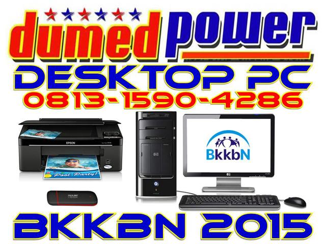 Desktop PC BKKBN 2015 ~ Komputer - Printer - Modem