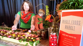 Oh, just the bloody mary garnish station courtesy of Whole Foods at Portland Monthly's Country Brunch 2014 at Castaway benefiting Zenger Farm. The Bloody Mary Garnish Bar included sweet beet pickled egg, saffron soaked mozzarella, Olympic Provisions salami ribbon, Unbound Pickling Asparagus, and Spicy Green Bean