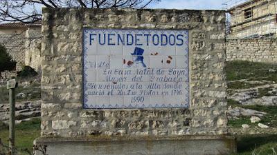 do Fuen-de-todos odwiedzić Goyę