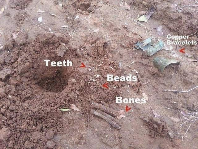 North America: Metal detectorist finds possible Native American burial site