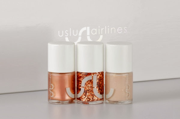 USLU AIRLINES NEW NAIL POLISHES