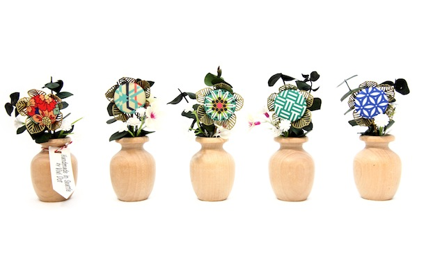 fancy flower hairpin by vivi dot