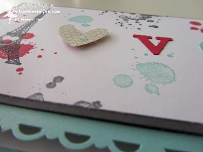 stampin up, valentine, gorgeous grunge, follow my heart, nichts als liebe, tour eiffel