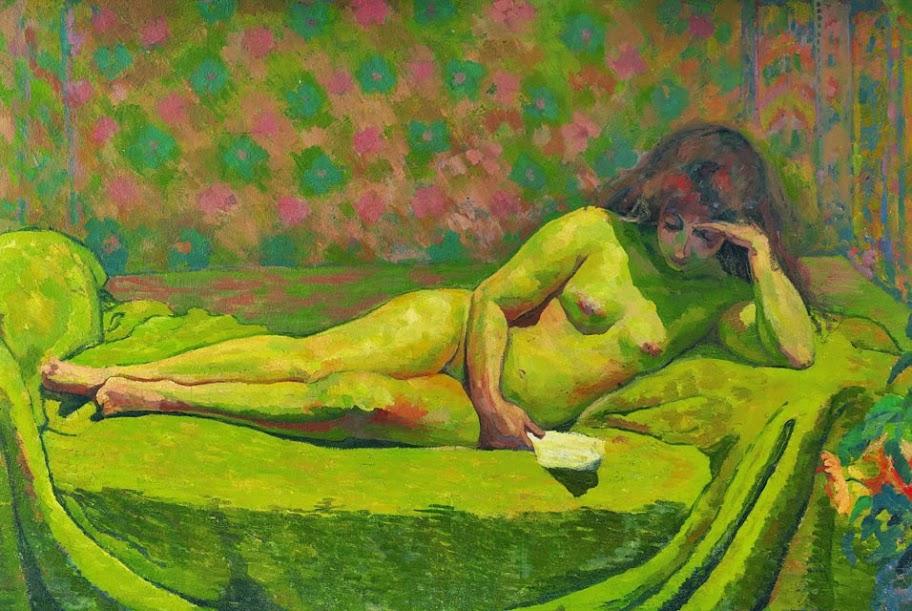 Giovanni Giacometti - Theodora, 1914