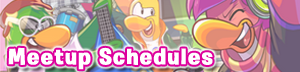 Cadence and Penguin Band meetup schedule