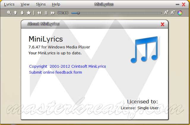 MiniLyrics 7.6.47