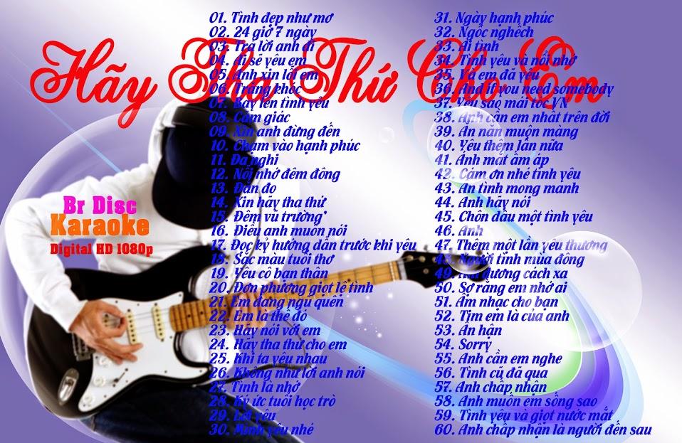 Bluray Disc Karaoke - Hãy Tha Thứ Cho Em