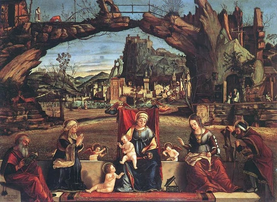 Vittore Carpaccio - Holy Conversation