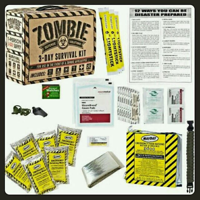 Kit supervivencia Zombie San Valentín
