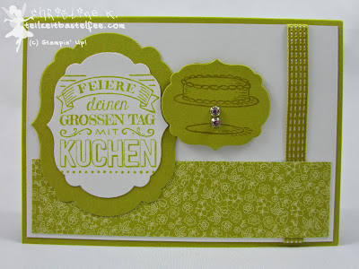 Stampin' Up! - In{k}spire_me #182 Zum großen Tag, Big Day, Sale-a-Bration 2015 SAB, Birthday, Geburtstag