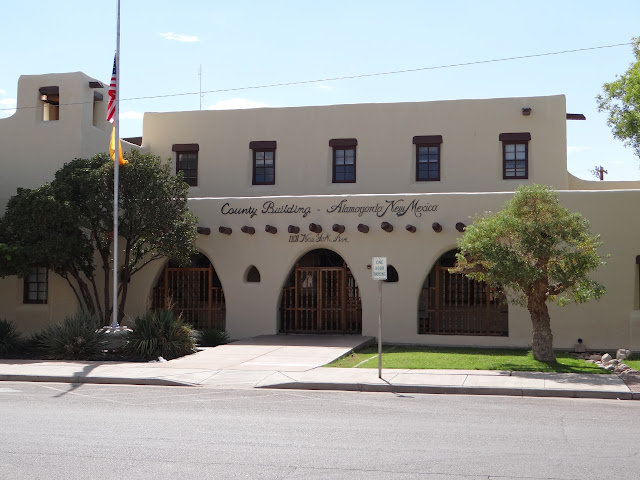 Old Alamogordo post office