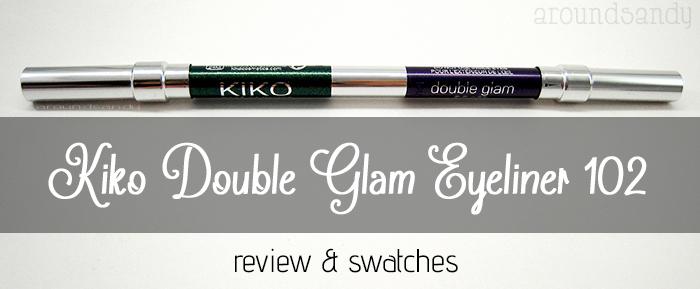 Kiko double glam 102 eyeliner