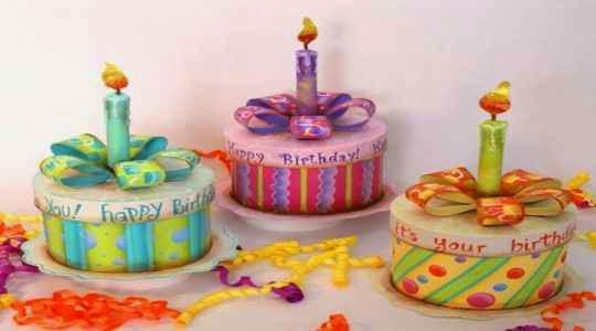 Pastelitos para cumpleaños