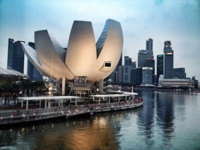 Museo de Arte y Ciencia Marina Bay Sands, Singapur