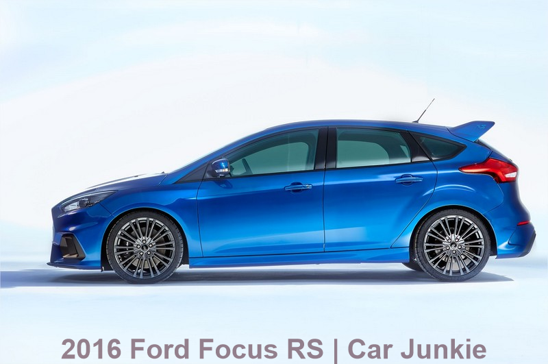 2016 Focus RS Firstly Debuts in American Specs | Video Show