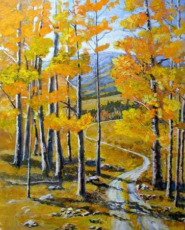 """Follow the Trail"" by Artist Ken Farris."