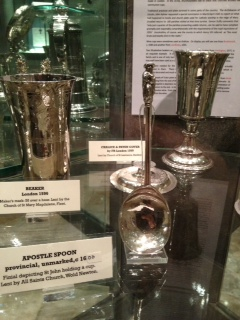 Silver Apostle's spoon on loan to Lincoln Cathedral