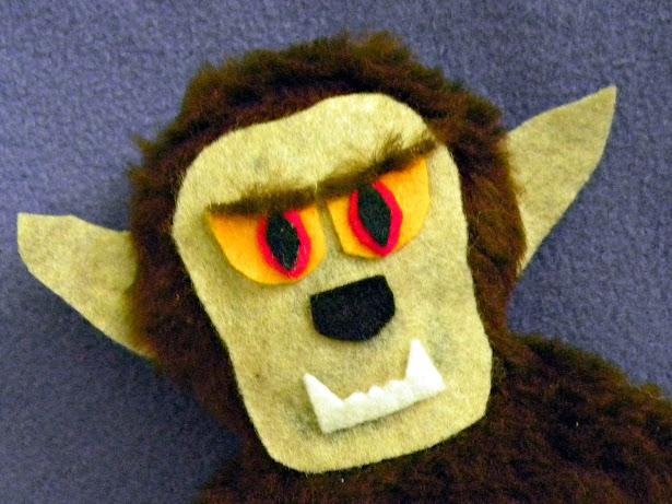 Wolfman closeup