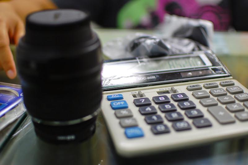 Kalkulator untuk tawar menawar