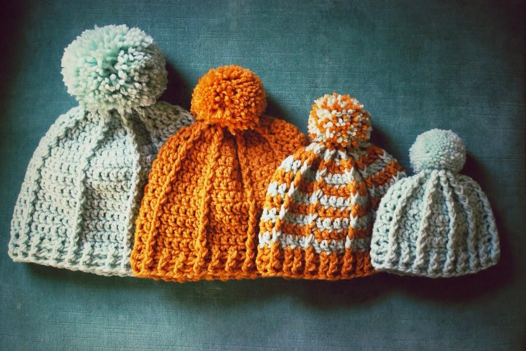 Caroline Hegwer Pom Free Crochet Hat Pattern