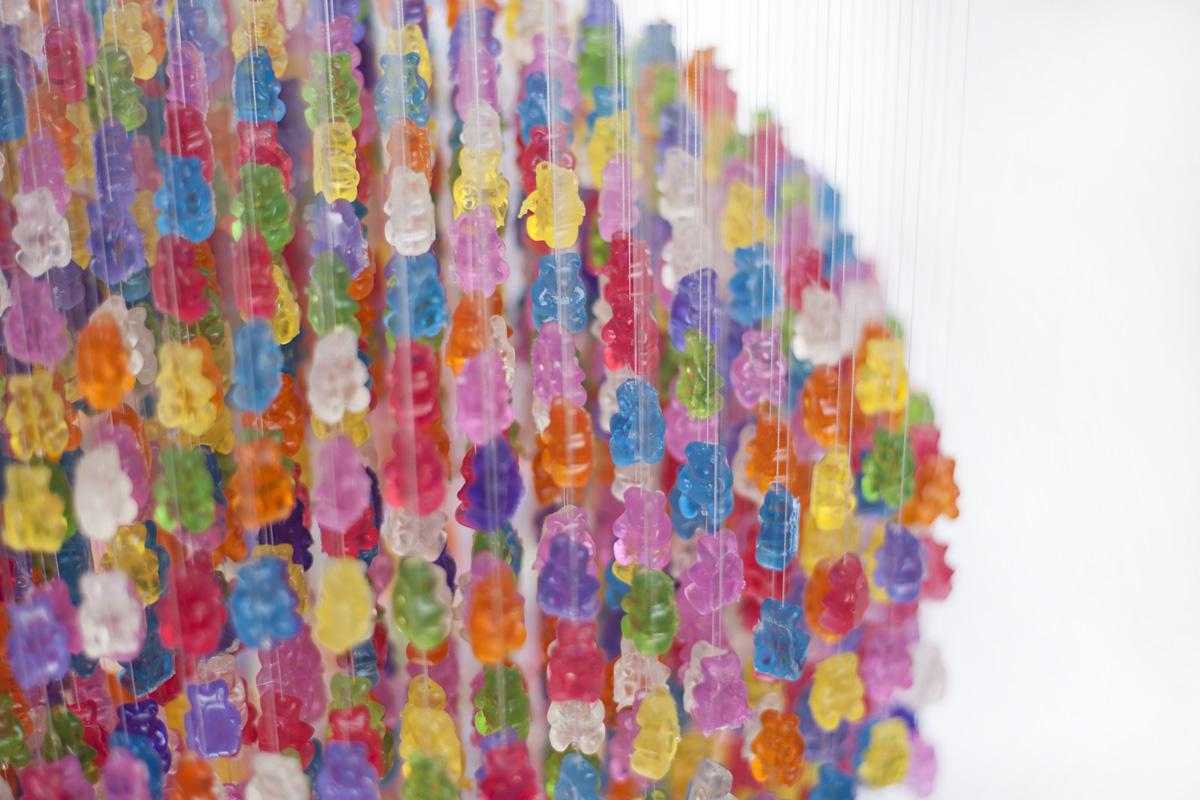 *Kevin Champeny:Gummy Bears Chandelier 小熊軟糖吊燈 3