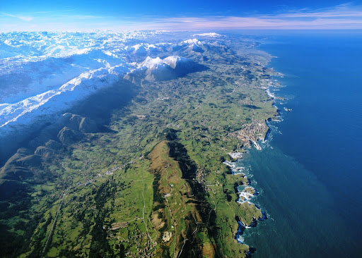 Coast of Green Spain