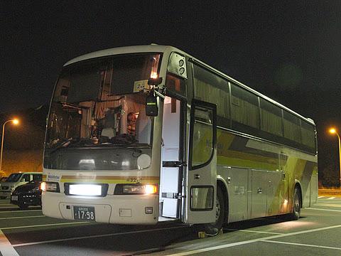 西鉄高速バス「さぬきエクスプレス福岡号」 3270 鴻ノ池パーキングエリアにて