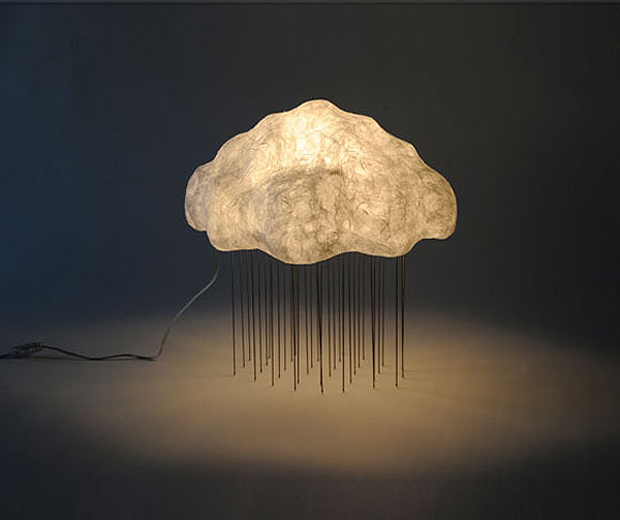 Glowing 'Cloud' Series by Tadao Shimizu