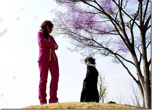 yu yu hakusho cosplay - kurama and hiei