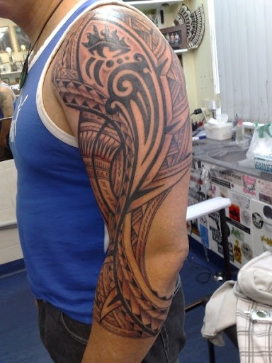 tribal tattoos for men arm