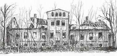 Ruiny pałacu w Brodowicach