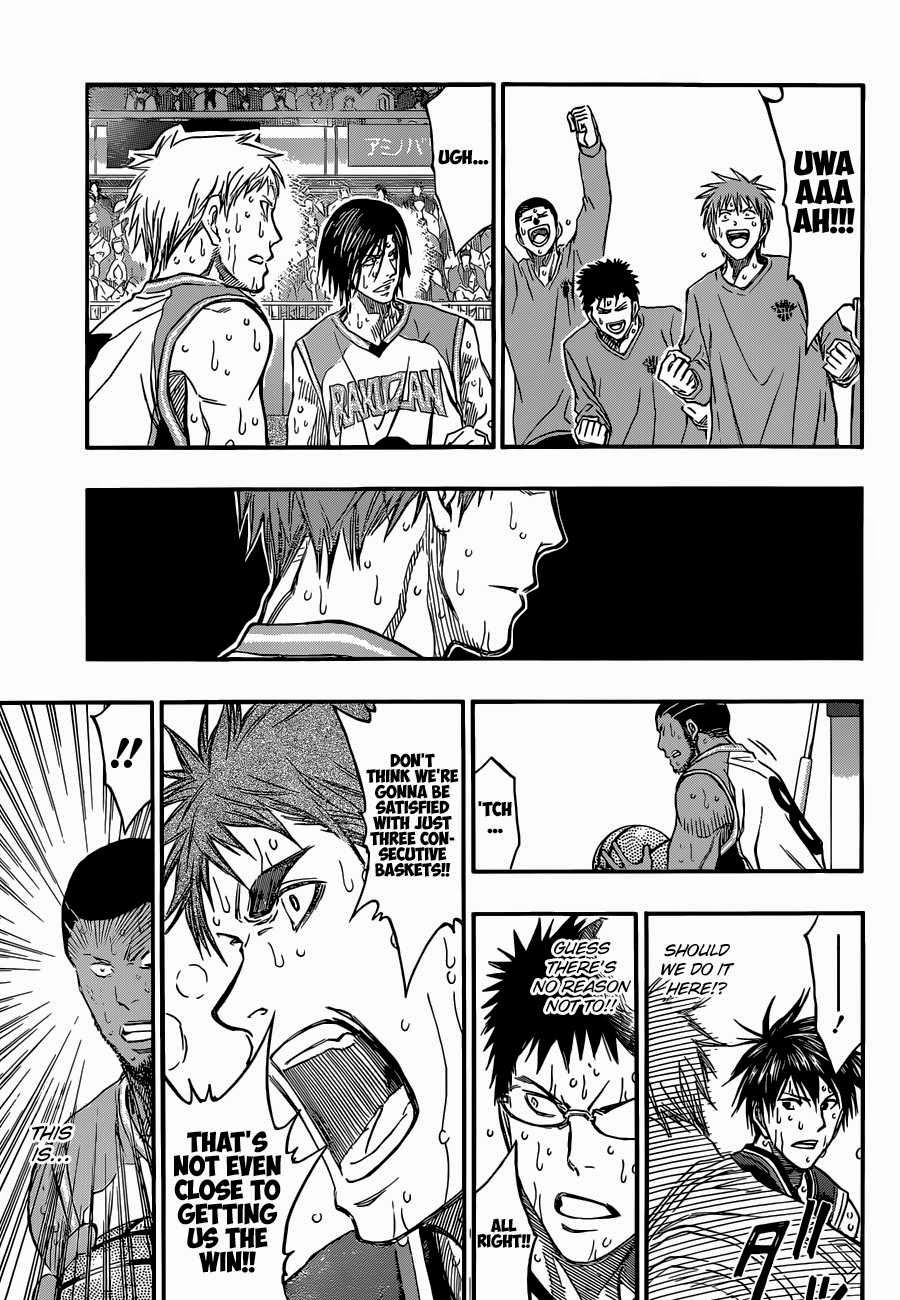 Kuroko no Basket Manga Chapter 260 - Image 07